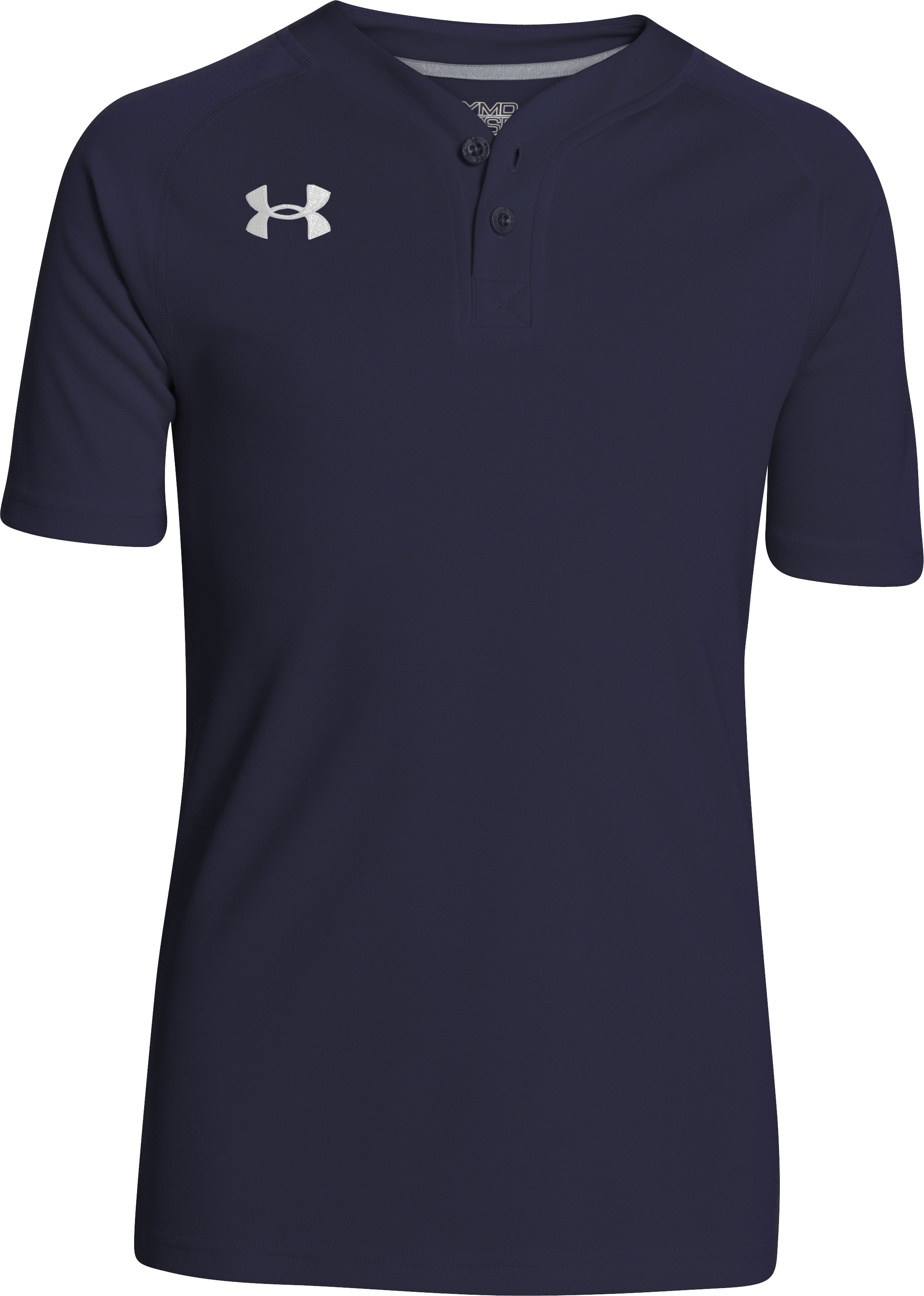 Boys' UA Lansdowne Henley, Midnight Navy, undefined