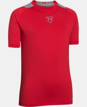 Boys' UA Undeniable Baseball Short Sleeve Shirt LIMITED TIME: FREE U.S. SHIPPING 1 Color $25.99