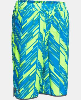 Boys' UA Lacrosse Woven Shorts  1 Color $26.99