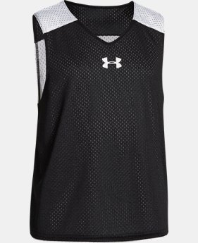 Boys' UA Lacrosse Reversible Pinny LIMITED TIME: FREE SHIPPING 1 Color $19.99