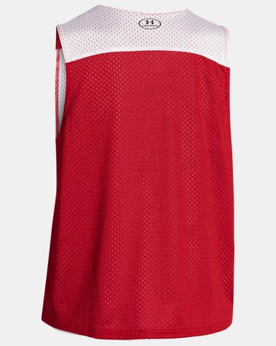 Boys' UA Lacrosse Reversible Pinny, Red, pdpMainDesktop image number 1