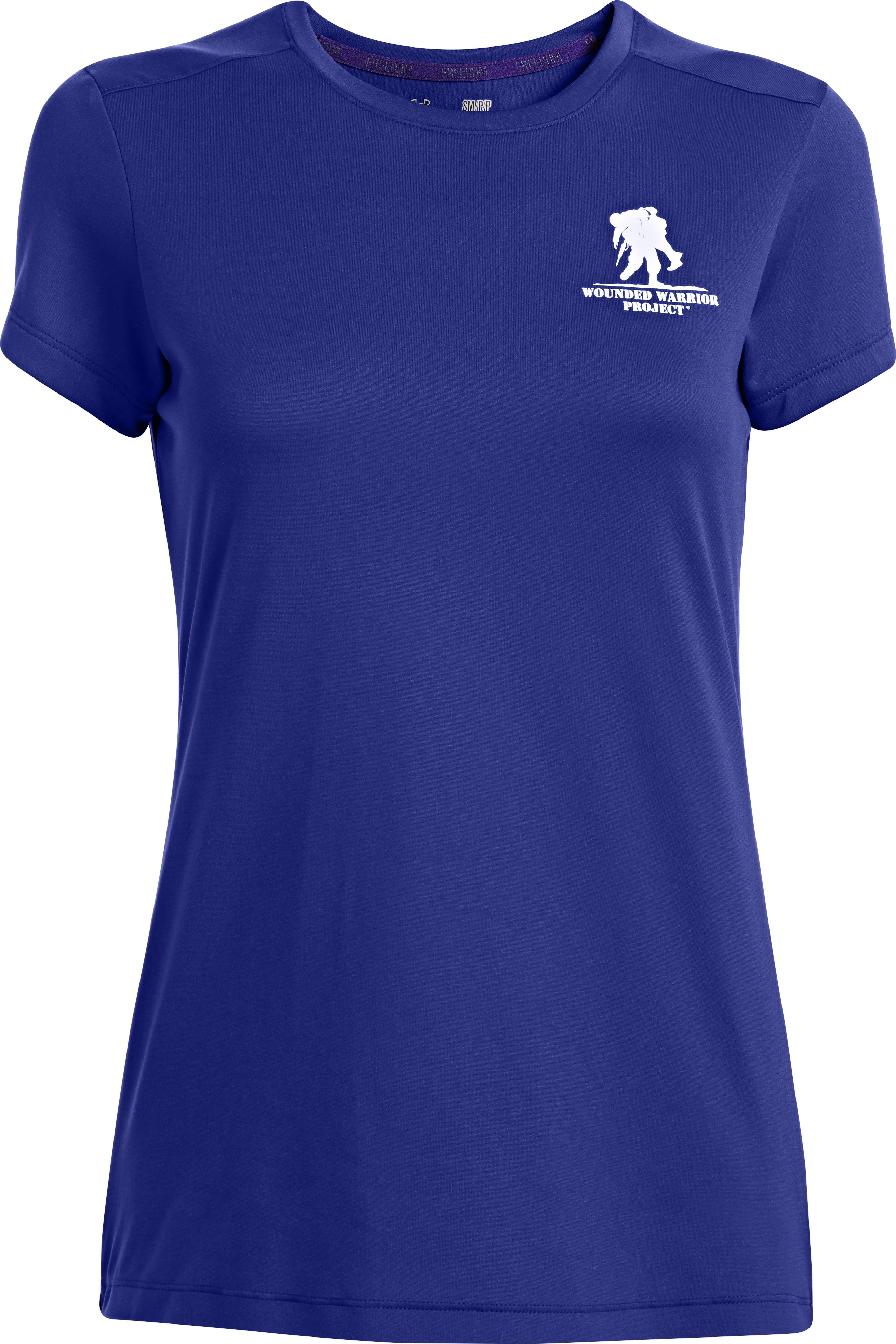 Women's WWP UA Tech™ T-Shirt, SIBERIAN IRIS, undefined