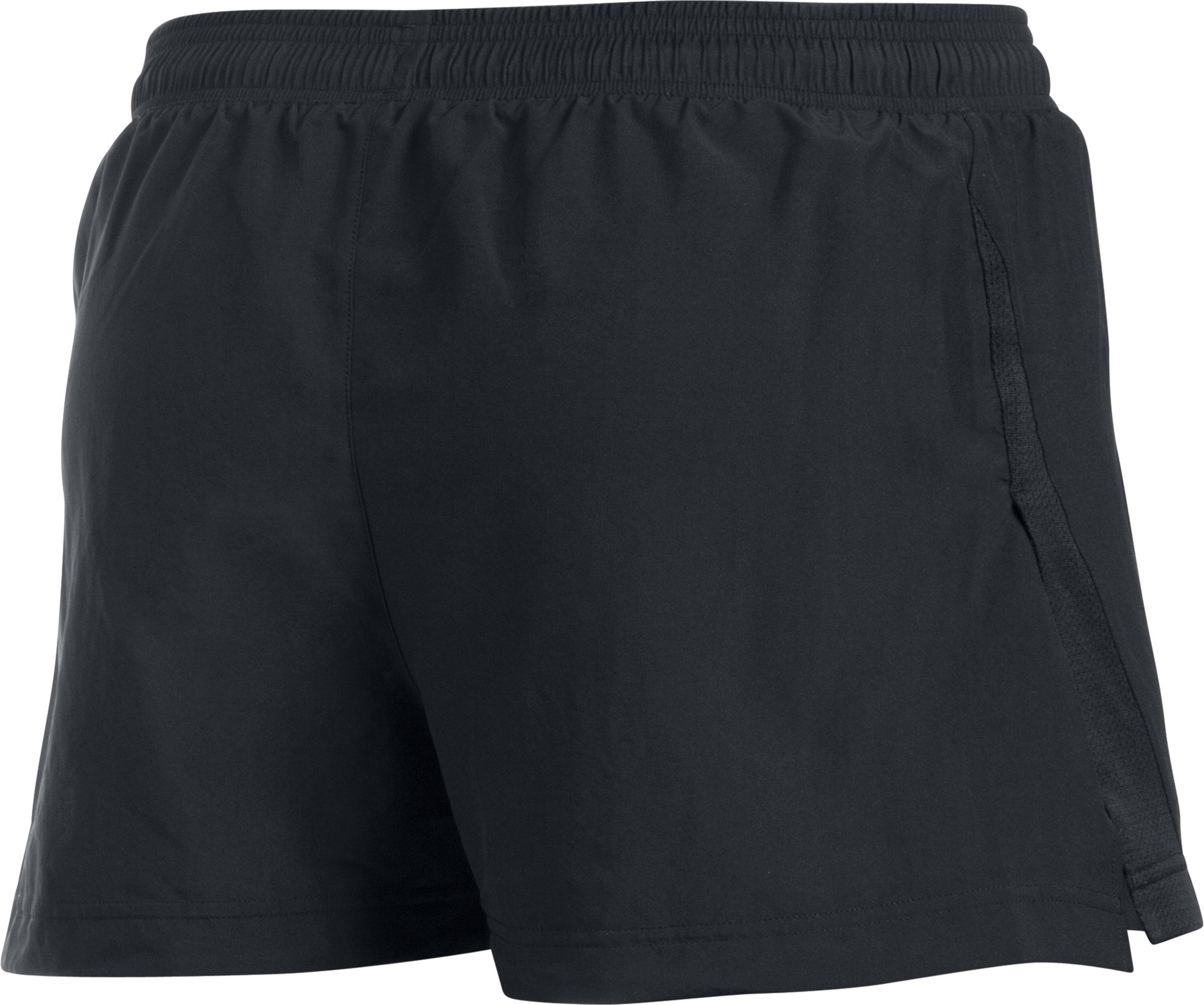 Men's UA Launch Split Run Shorts, Black