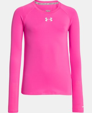 Girls' HeatGear® Armour Long Sleeve LIMITED TIME: FREE U.S. SHIPPING 1 Color $18.99