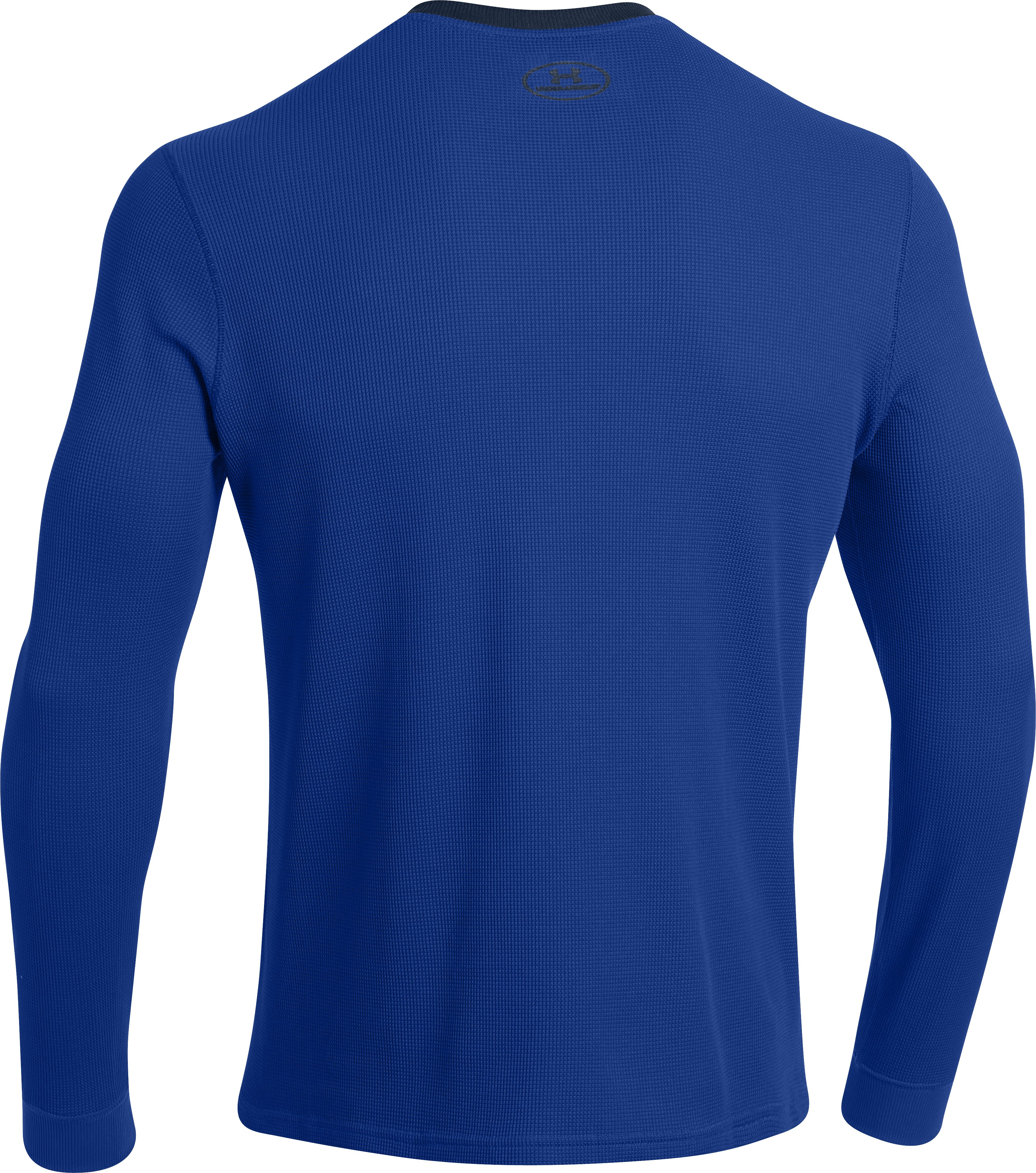 Men's UA Amplify Thermal Crew, Royal, undefined