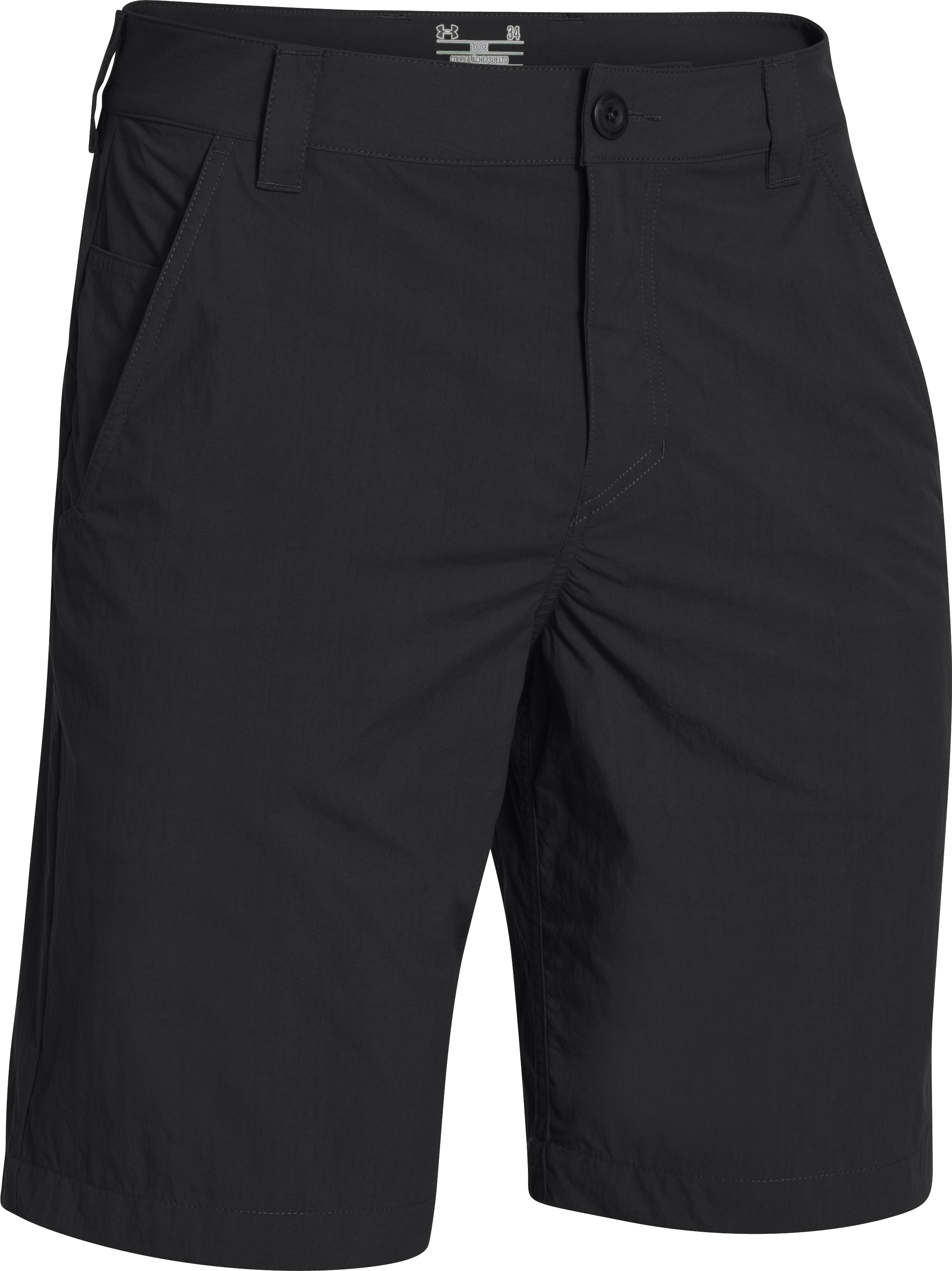 Men's UA Chesapeake Shorts, Black ,
