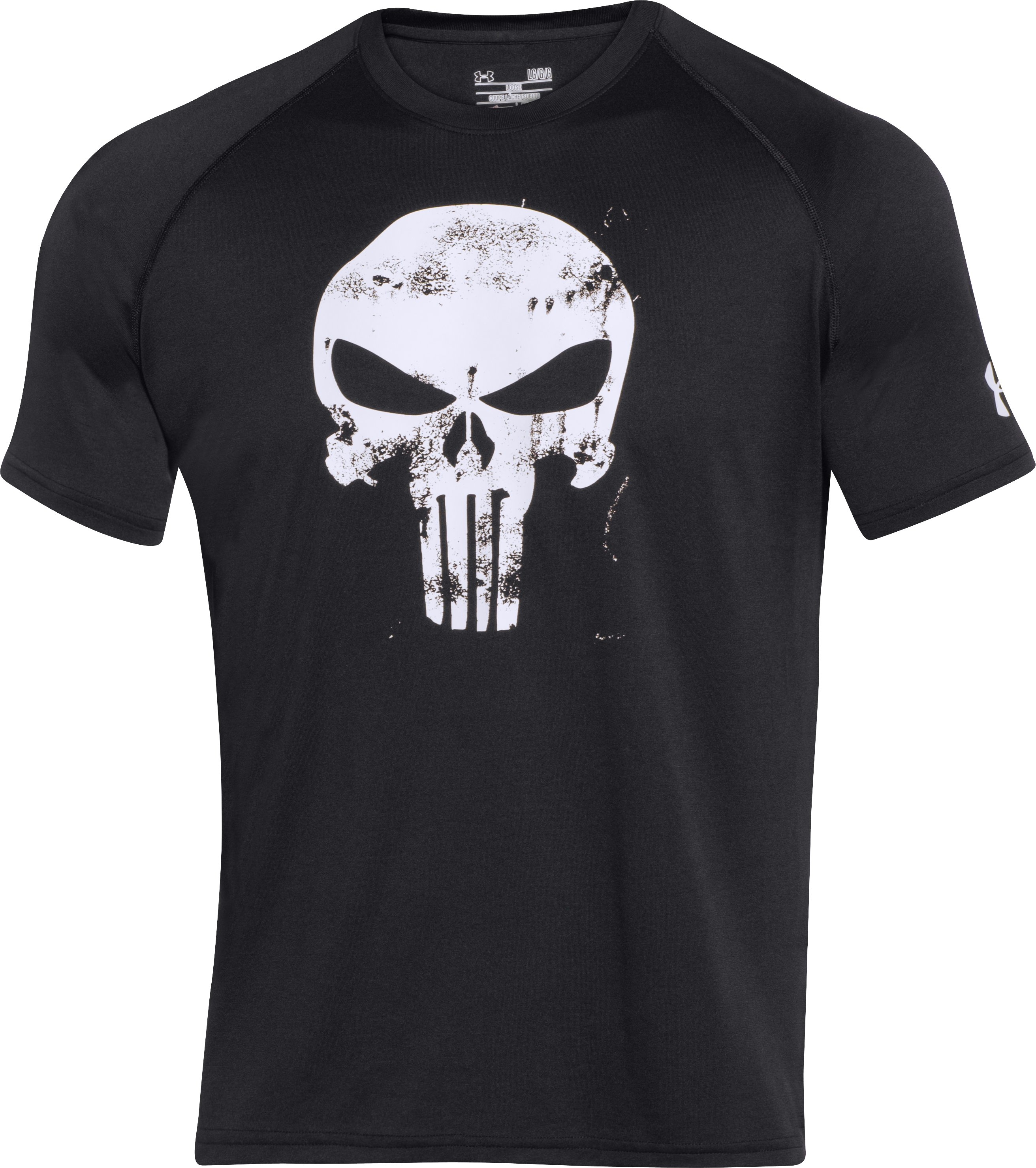 Men's Under Armour® Alter Ego Punisher T-Shirt, Black
