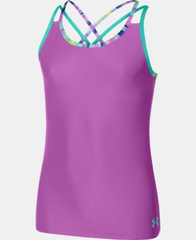 Girls' UA Elevate Tank  1 Color $13.49
