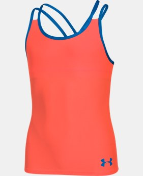 Girls' UA Elevate Tank  1 Color $17.99