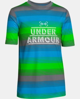 Boys' UA Iso-Chill Element Short Sleeve Shirt LIMITED TIME: FREE U.S. SHIPPING 1 Color $22.99