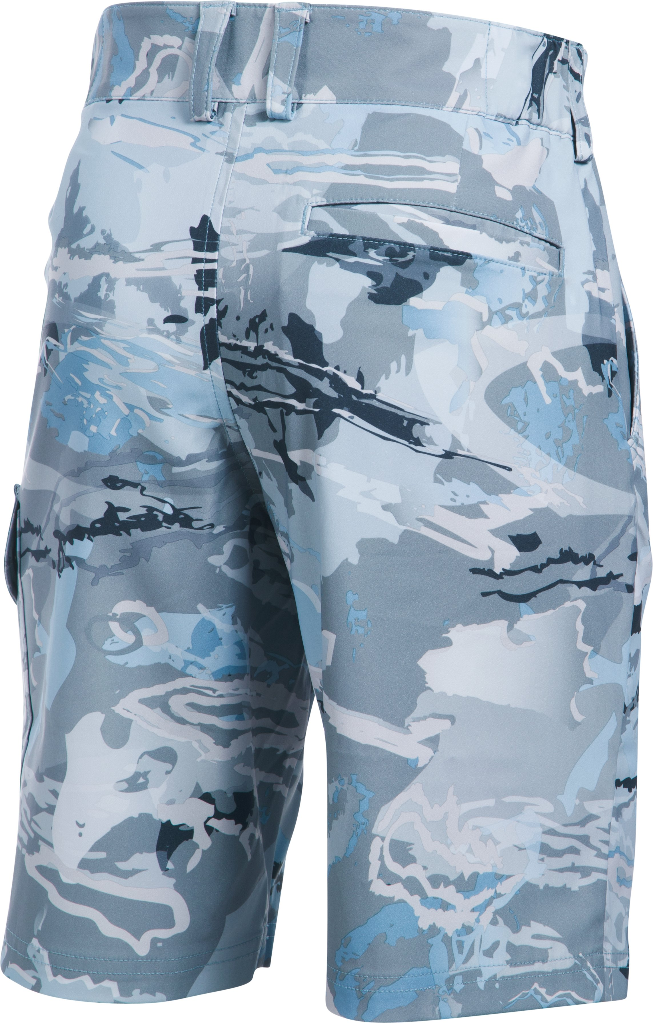 Boys' UA Shark Bait Cargo Shorts, RIDGE REAPER® HYDRO, undefined