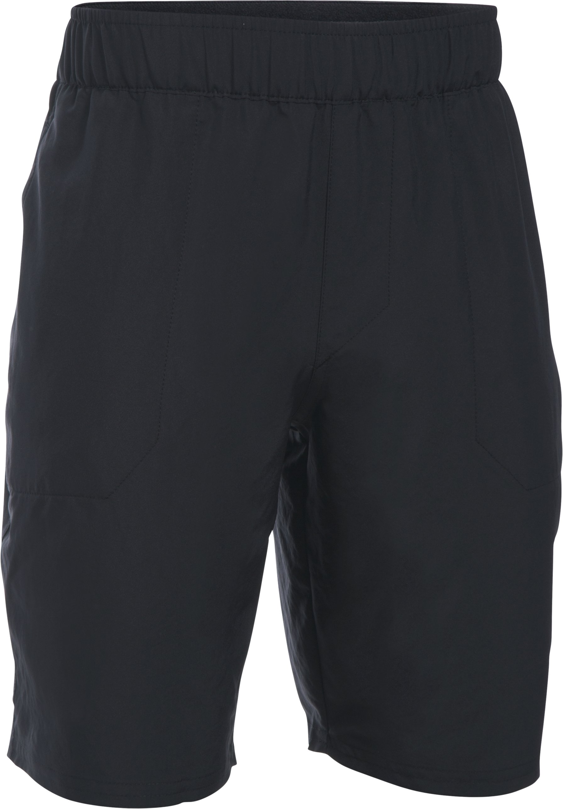 Boys' UA Coastal Amphibious Shorts, Black , undefined