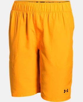 Boys' UA Coastal Shorts LIMITED TIME: FREE SHIPPING 4 Colors $34.99
