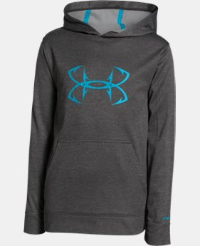 Boys' UA Storm Fish Hook Hoodie LIMITED TIME: FREE SHIPPING 1 Color $44.99