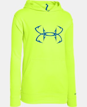Boys' UA Storm Fish Hook Hoodie  1 Color $33.99