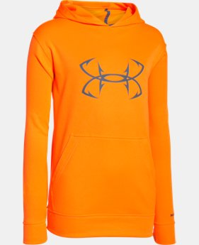 Boys' UA Storm Fish Hook Hoodie  1 Color $29.99 to $39.99