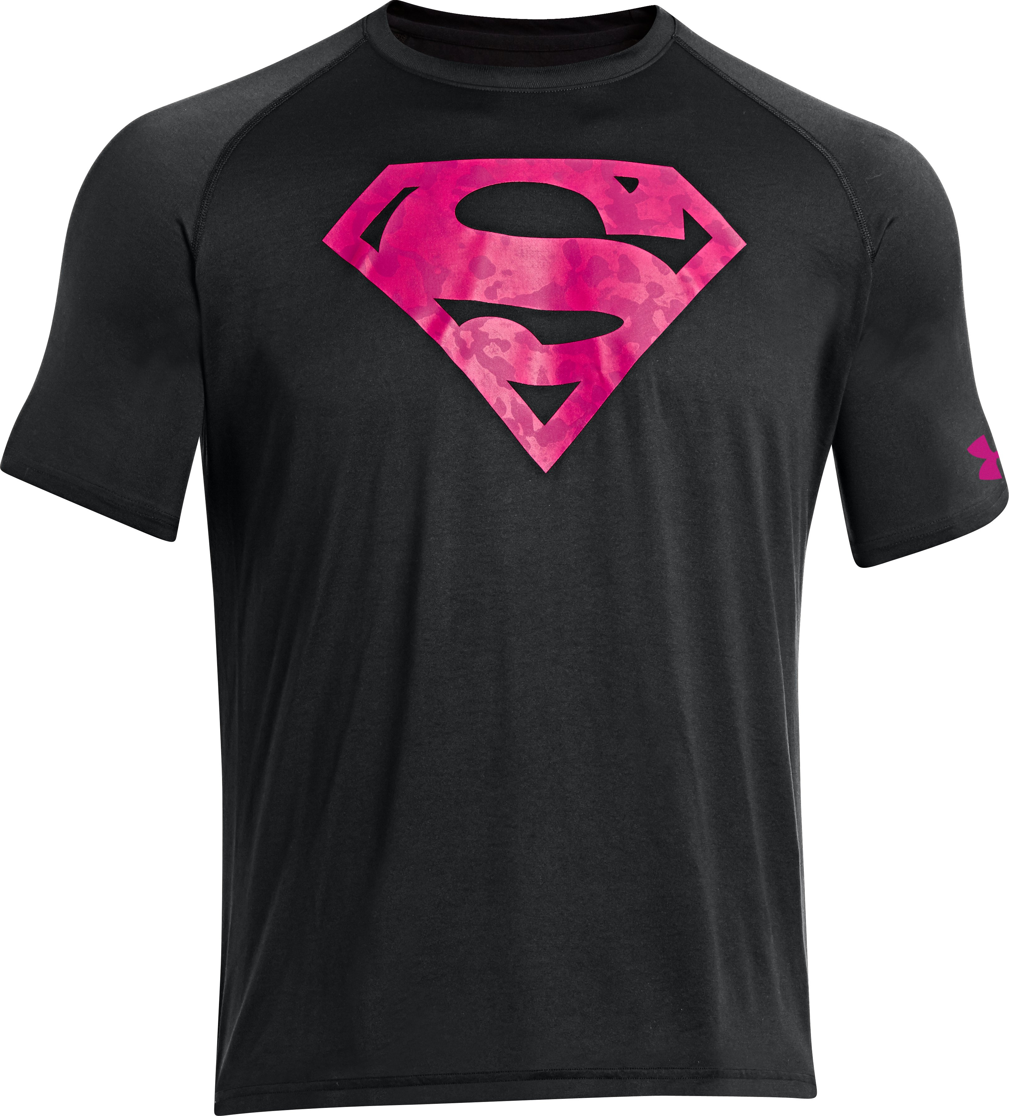 Men's Under Armour® Alter Ego Superman PIP® T-Shirt, Black