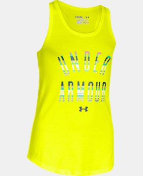 Girls' UA Under Armour Tank LIMITED TIME: FREE U.S. SHIPPING  $14.99