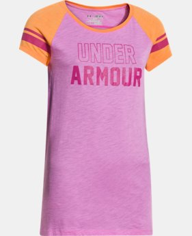Girls' UA Big Logo Branded Raglan   $14.99 to $18.99