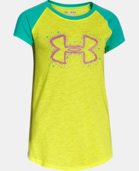 Girls' UA Big Logo Branded Raglan  1 Color $14.99 to $18.99