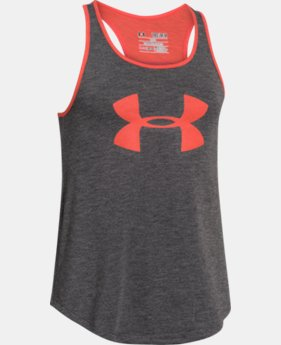 Girls' UA Big Logo Tank  1 Color $13.99 to $17.99