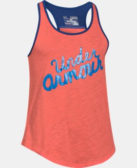 Girls' UA Big Logo Tank  5 Colors $13.99 to $17.99