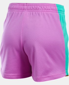 Girls' UA Dominate Short  1 Color $17.99