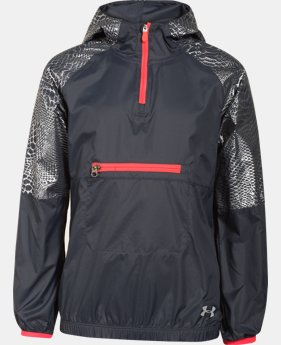 Girls' UA Popover Rain Shell  1 Color $36.99