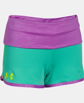Girls' UA Hype Rollover Short  2 Colors $18.99