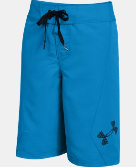 Boys' UA Shorebreak Boardshorts LIMITED TIME: FREE U.S. SHIPPING 1 Color $27.99