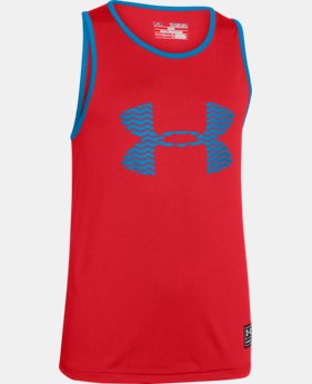 Boys' UA Heenalu Tank LIMITED TIME: FREE U.S. SHIPPING 1 Color $17.99