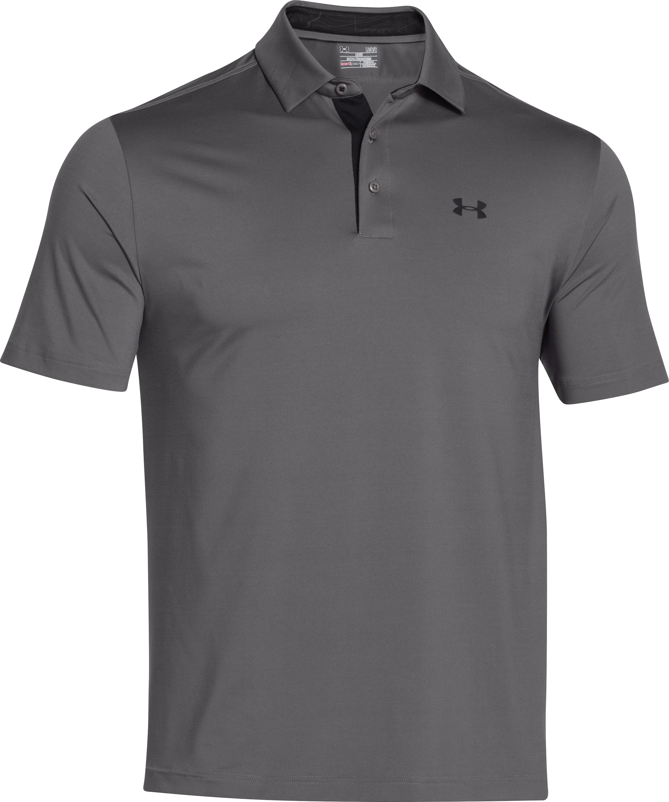 Men's UA Playoff Polo, Graphite,