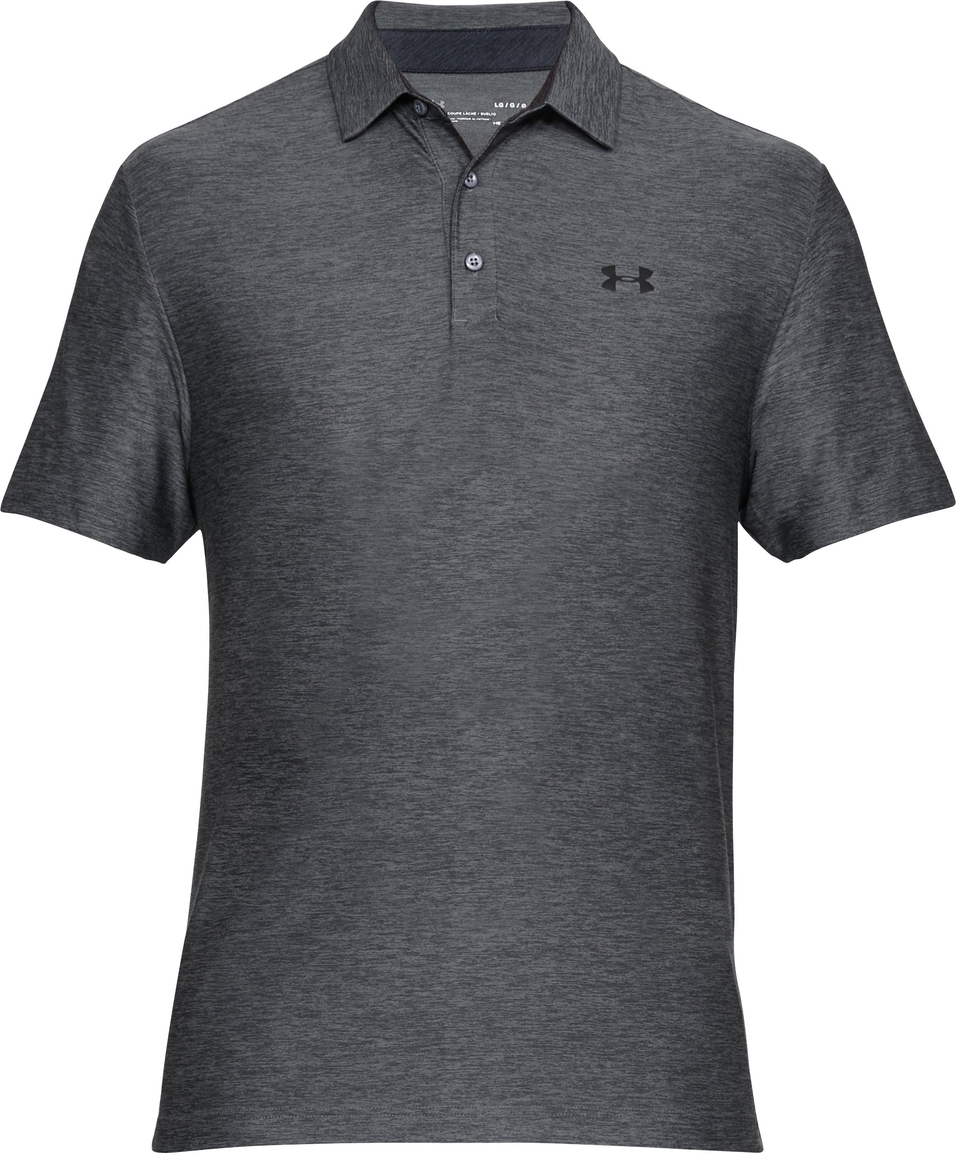 Men's UA Playoff Polo, RHINO GRAY, undefined