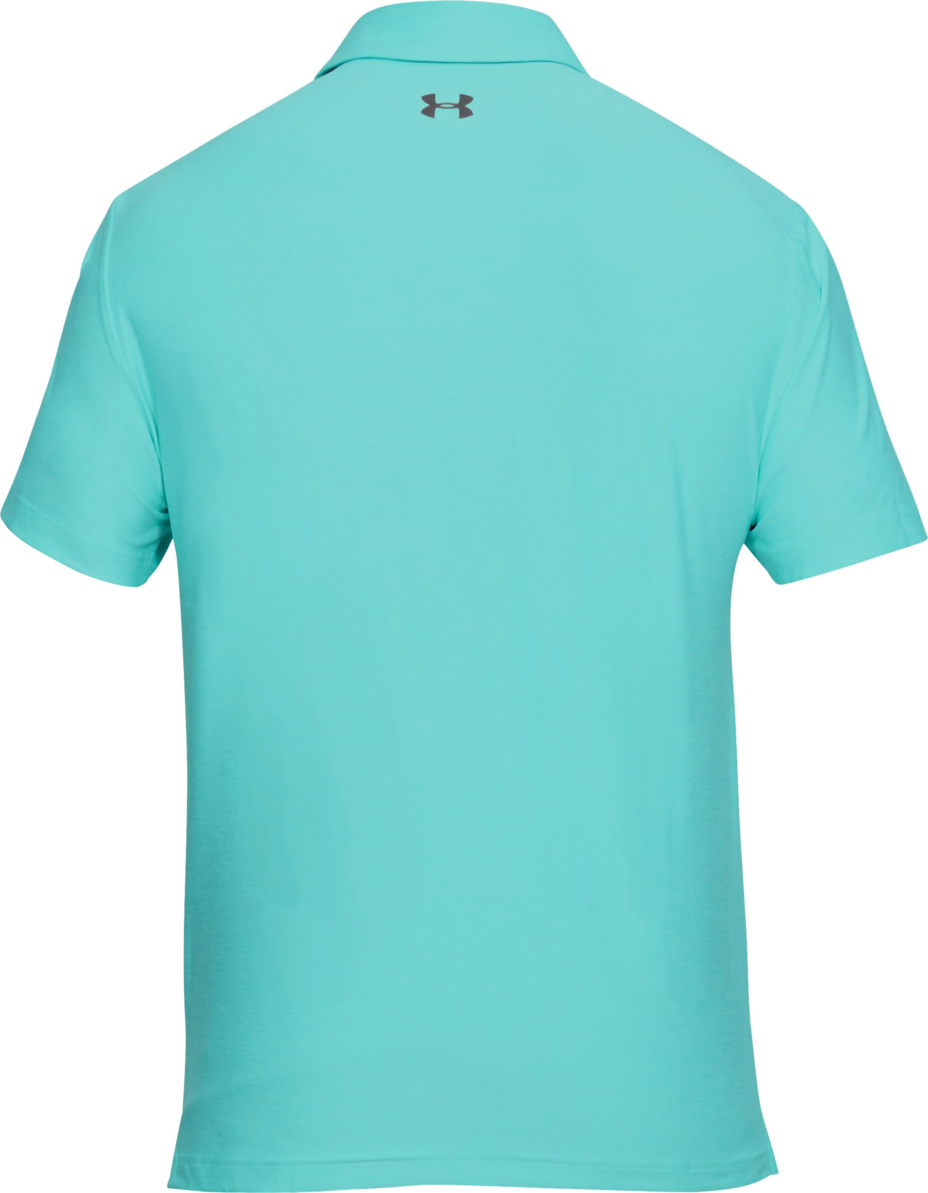 Men's UA Playoff Polo, TROPICAL TIDE,