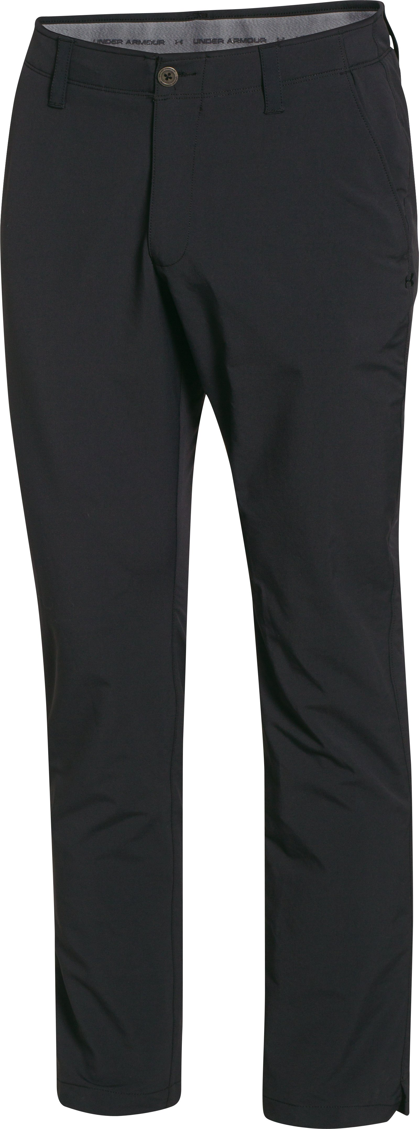 Men's UA Match Play Golf Pants – Tapered Leg, Black