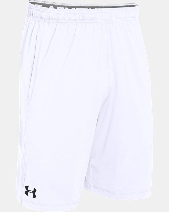 """Men's UA Raid 10"""" Shorts, White, pdpMainDesktop image number 8"""