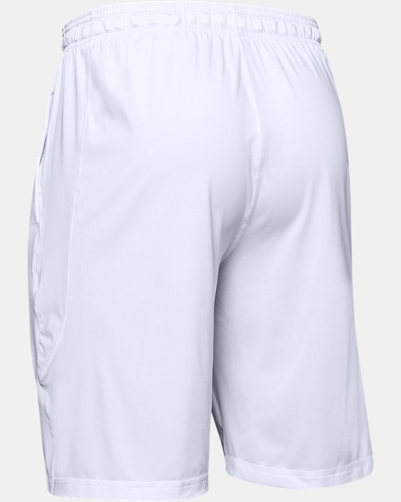 """Men's UA Raid 10"""" Shorts, White, pdpMainDesktop image number 10"""