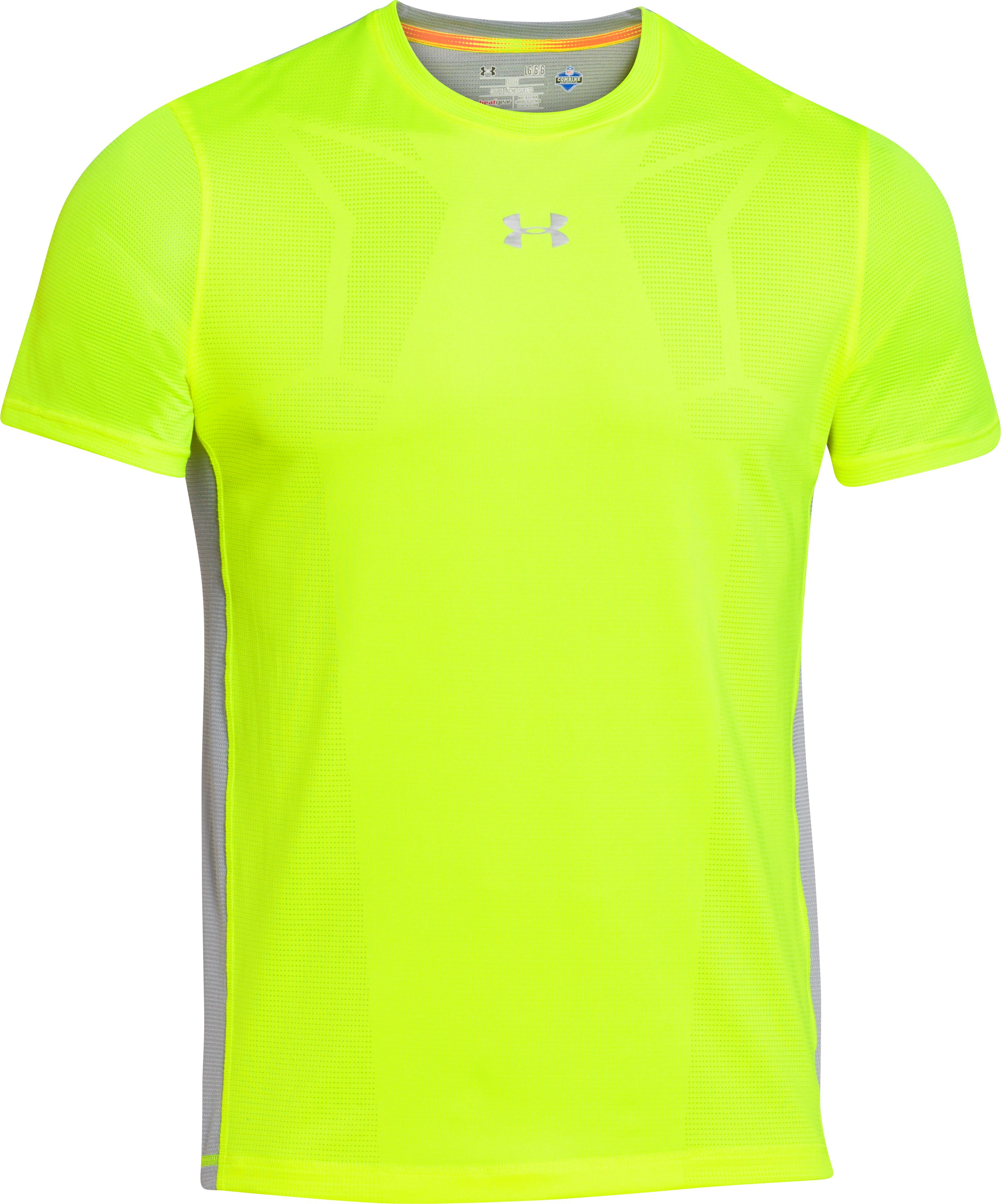 Men's NFL Combine Authentic Training T-Shirt, High-Vis Yellow, undefined