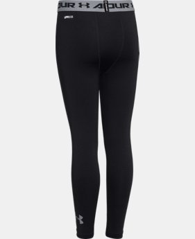 Boys' UA HeatGear® Armour Fitted Leggings  1 Color $20.24