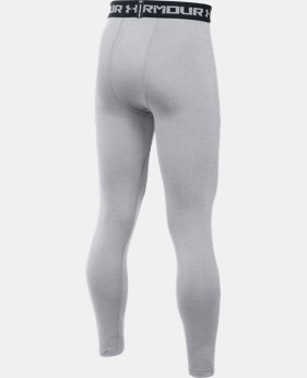 Boys' UA HeatGear® Armour Fitted Leggings  1 Color $29.99