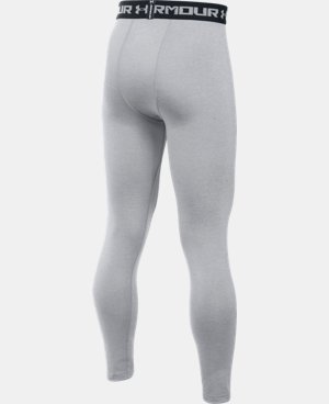 Boys' UA HeatGear® Armour Fitted Leggings LIMITED TIME: FREE U.S. SHIPPING 1 Color $26.99