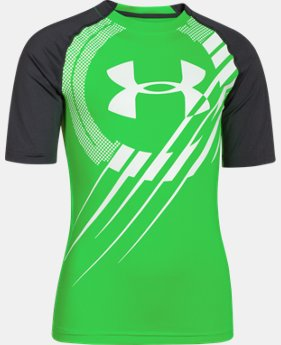 Boys' UA Show Me Sweat UPF ½ Sleeve T-Shirt   $20.99 to $25.99