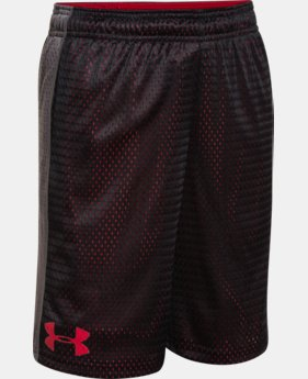 Boys' UA Influencer Shorts LIMITED TIME: FREE SHIPPING  $27.99