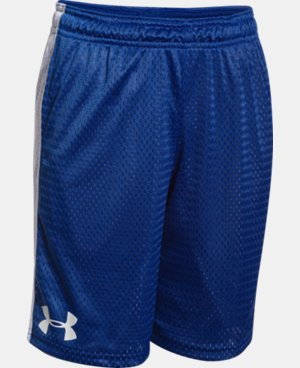 New Arrival  Boys' UA Influencer Shorts LIMITED TIME: FREE SHIPPING 1 Color $20.99 to $27.99