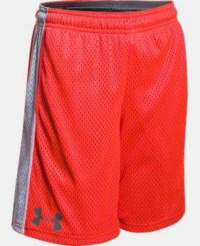 Boys' UA Influencer Shorts LIMITED TIME: FREE SHIPPING 1 Color $27.99