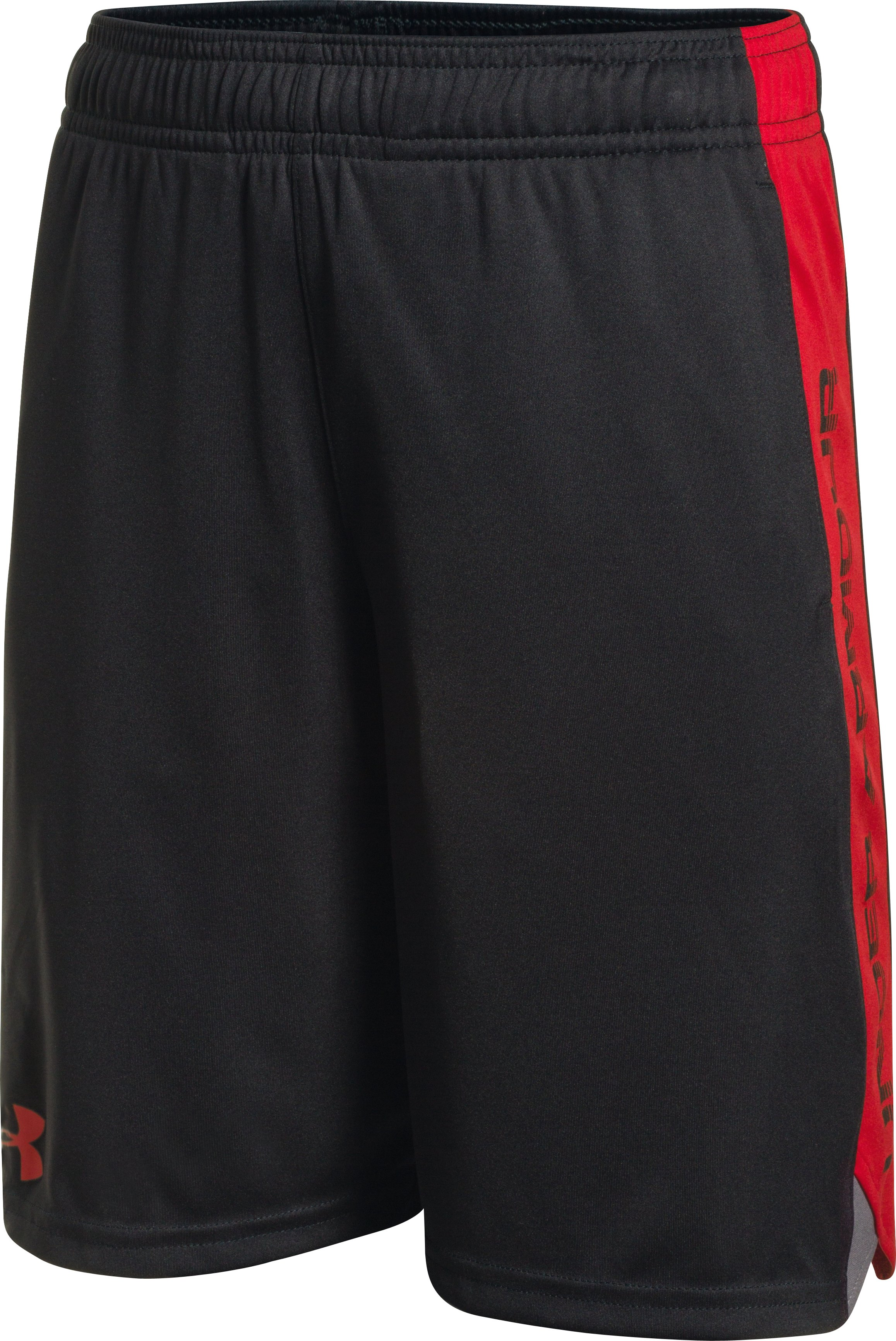 Boys' UA Eliminator Shorts, Black ,
