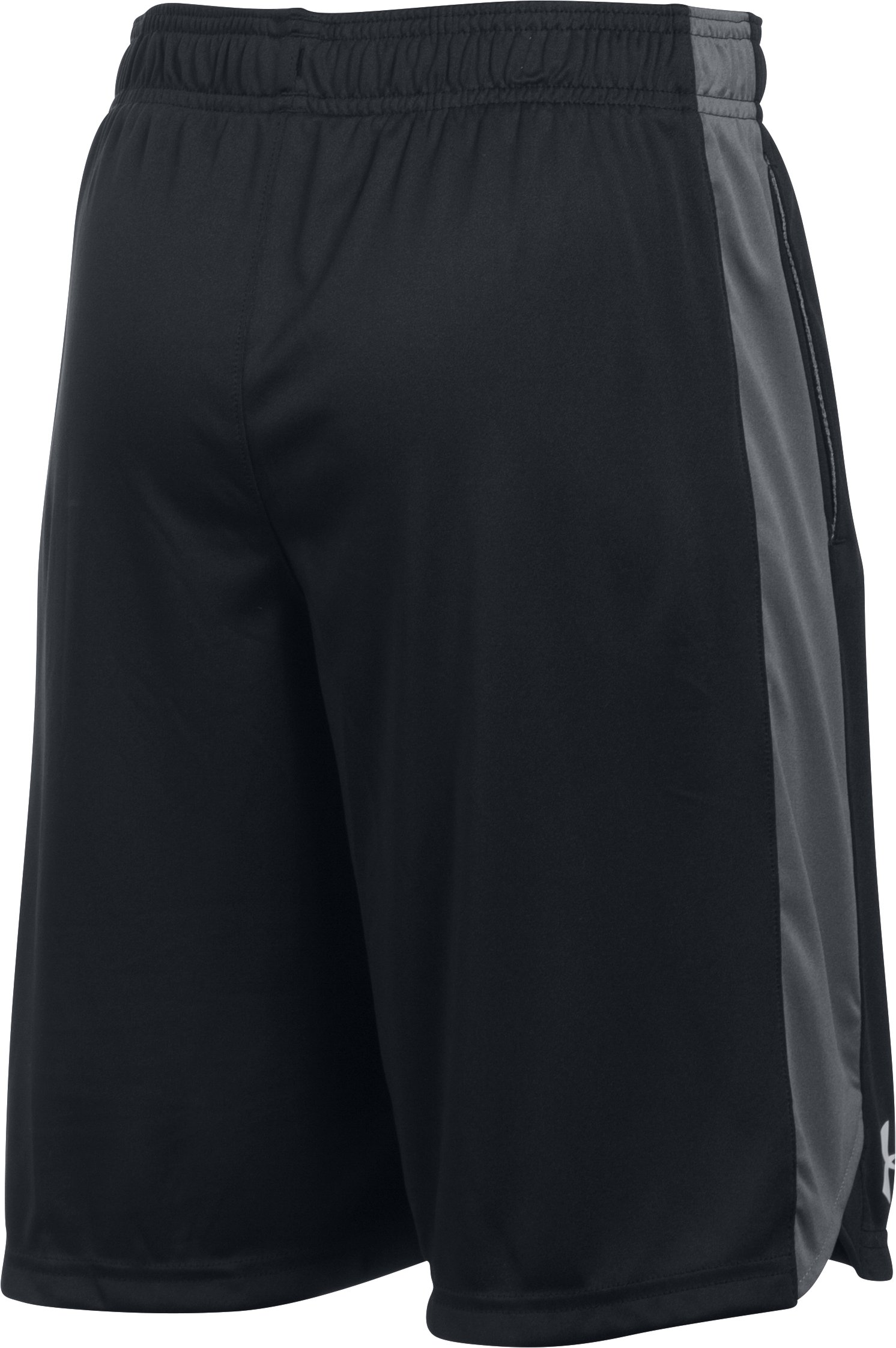 Boys' UA Eliminator Shorts, Black , undefined