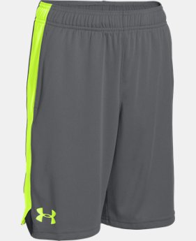 Boys' UA Eliminator Shorts LIMITED TIME: FREE SHIPPING 11 Colors $29.99