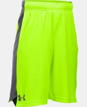 Best Seller Boys' UA Eliminator Shorts LIMITED TIME: FREE SHIPPING 3 Colors $24.99