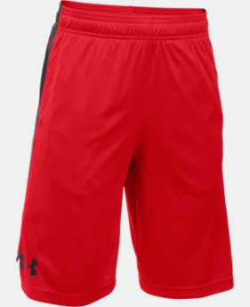 Boys' UA Eliminator Shorts LIMITED TIME: FREE U.S. SHIPPING 2 Colors $18.99 to $24.99